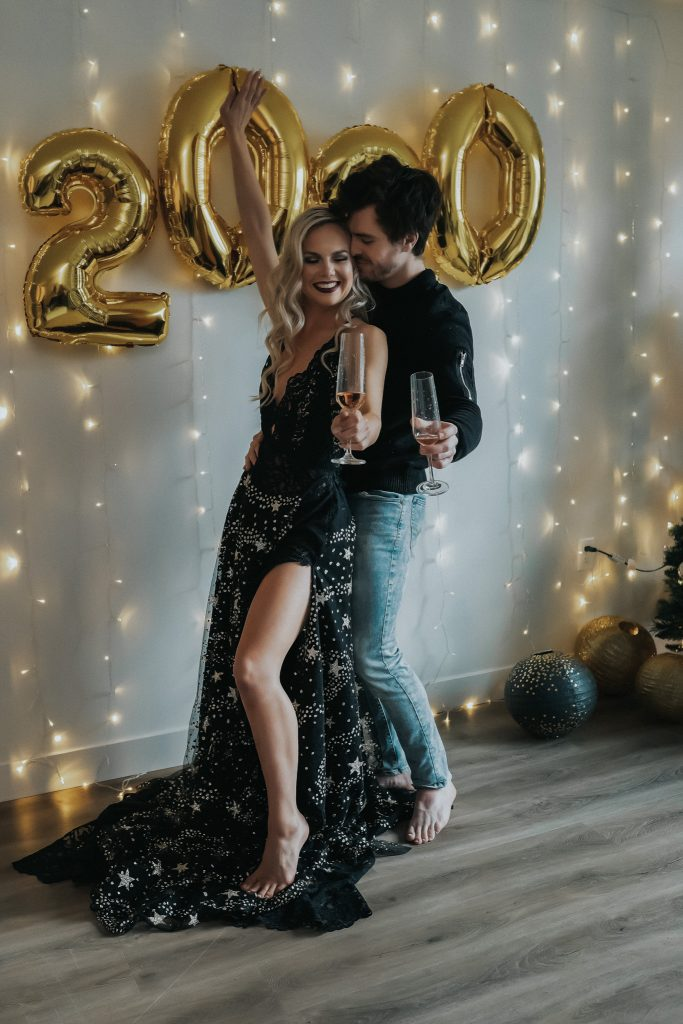 New Year's styled shoot