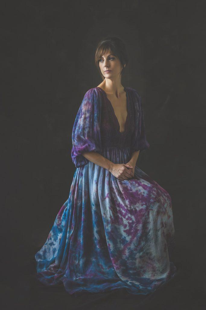Boudoir studio glamour shot