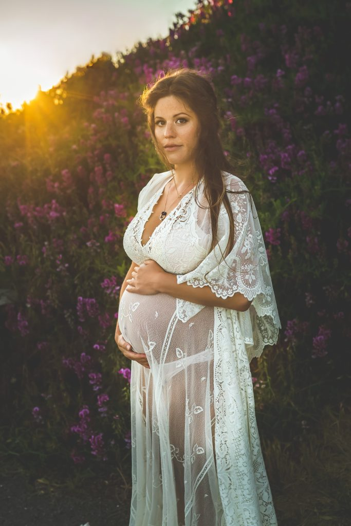 Magical Outdoor Maternity Session