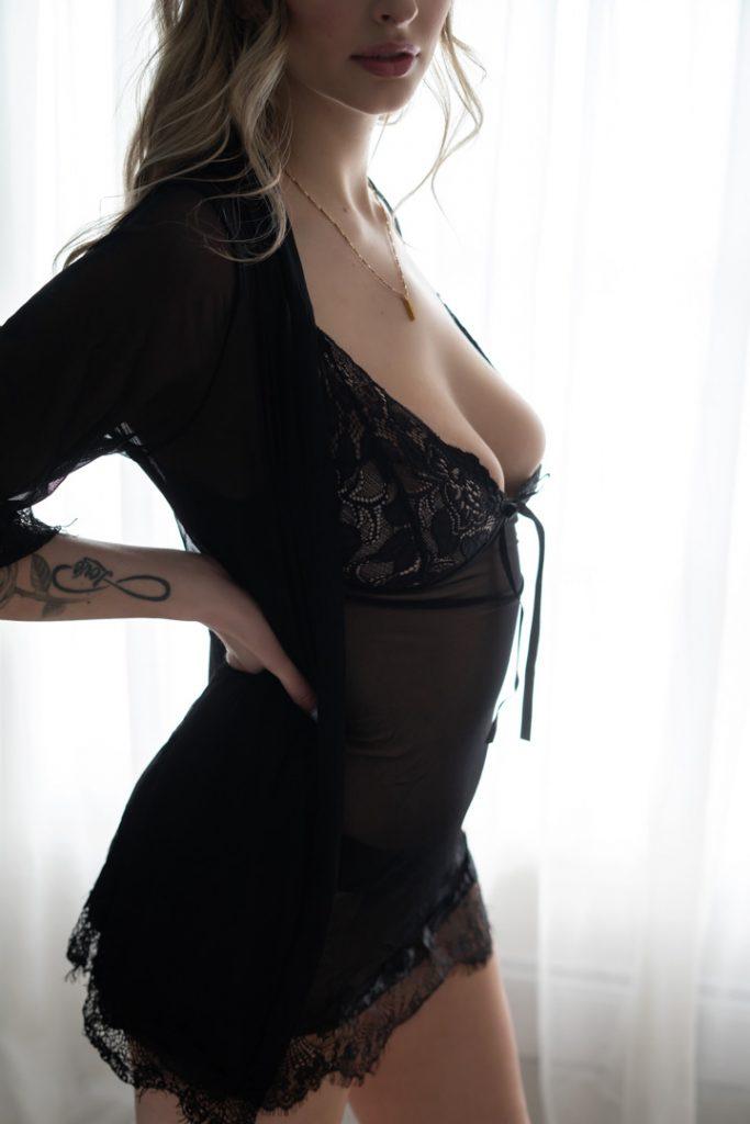 boudoir session victoria bc